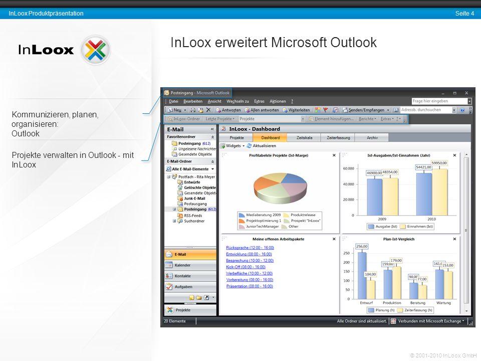 InLoox erweitert Microsoft Outlook