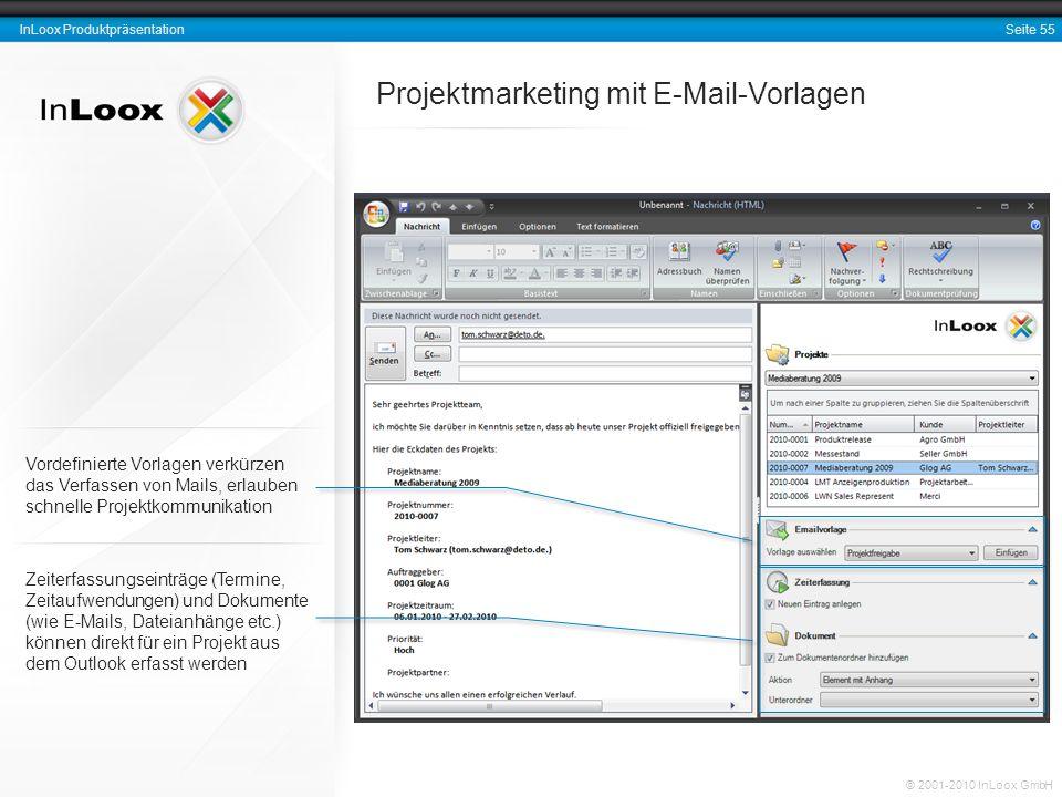 Projektmarketing mit E-Mail-Vorlagen