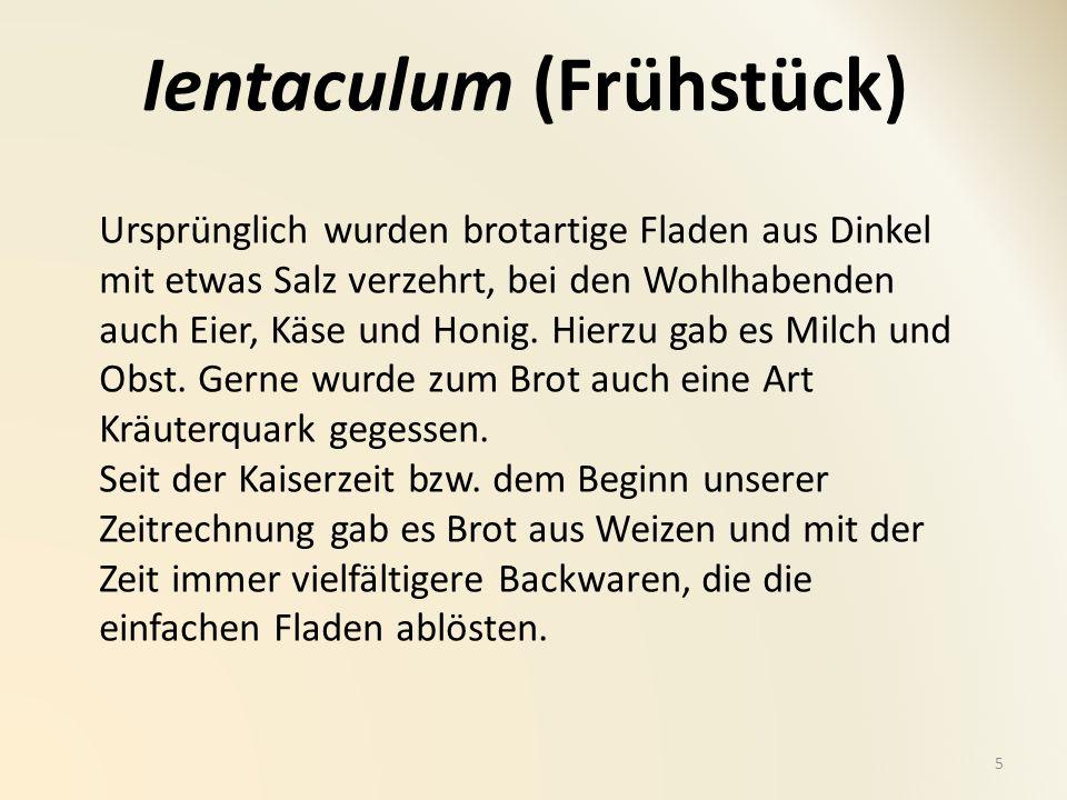 Ientaculum (Frühstück)