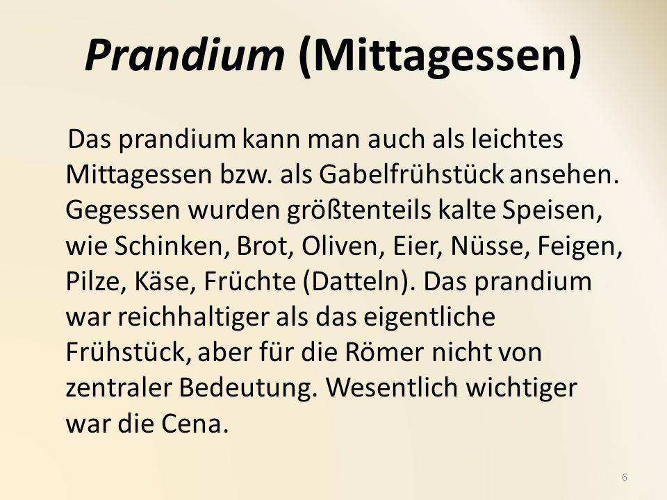 Prandium (Mittagessen)