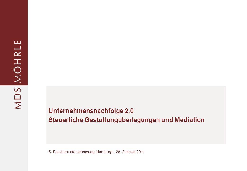 5. Familienunternehmertag, Hamburg – 28. Februar 2011