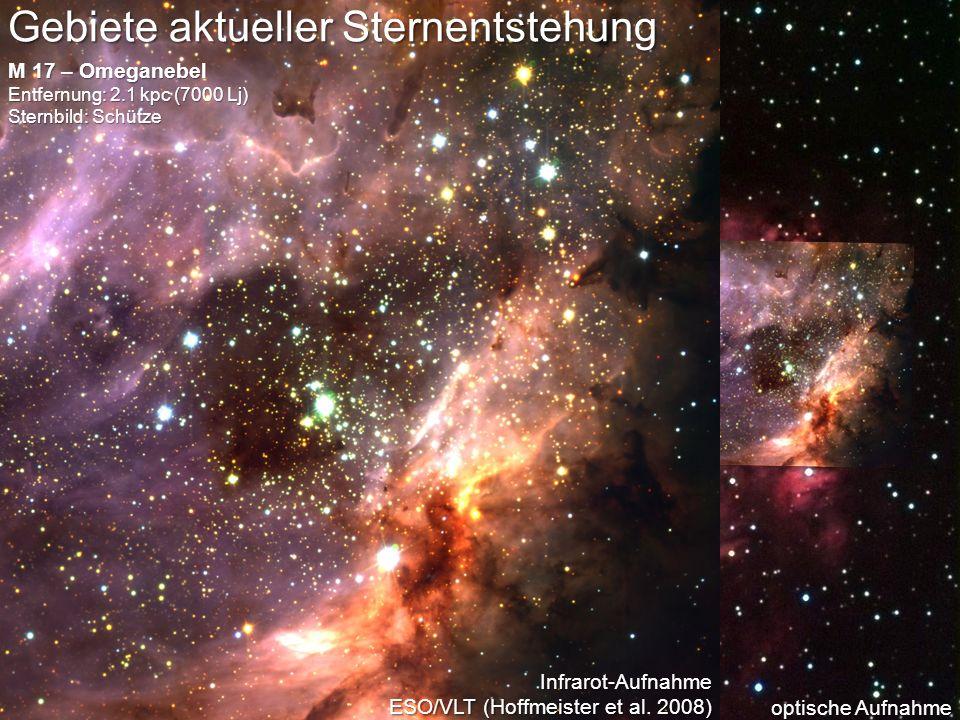 Gebiete aktueller Sternentstehung
