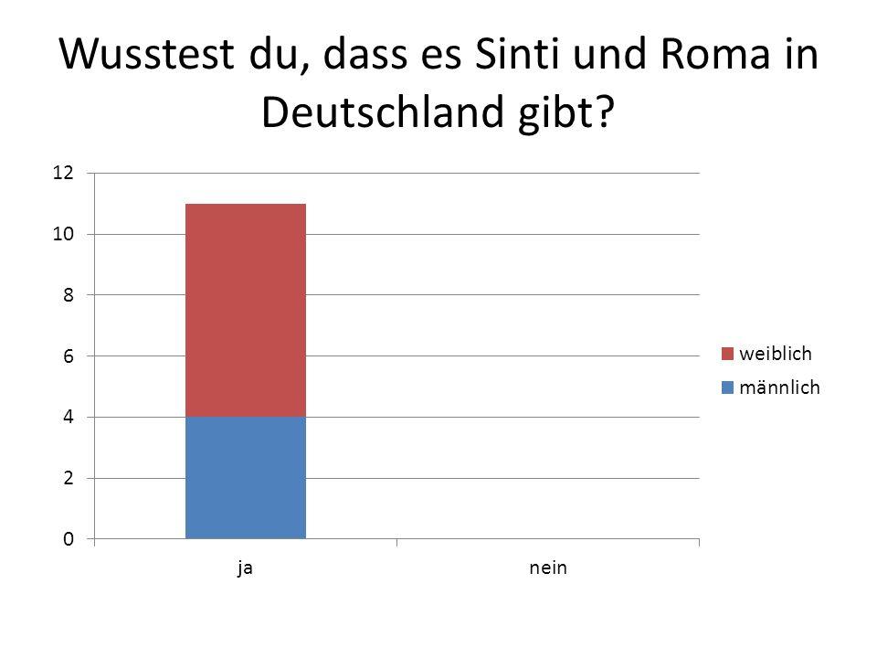 Wusstest du, dass es Sinti und Roma in Deutschland gibt