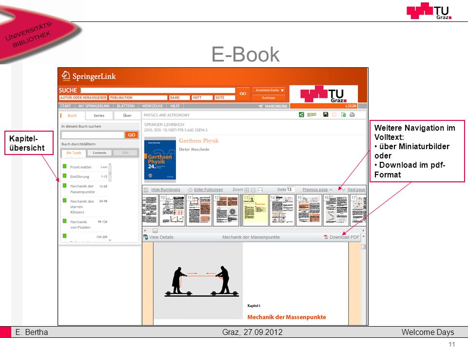 E-Book Weitere Navigation im Volltext: Kapitel-übersicht