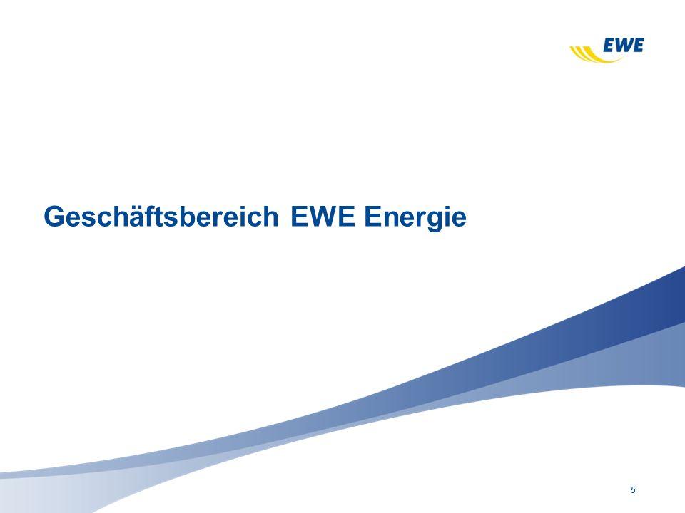 Geschäftsbereich EWE Energie