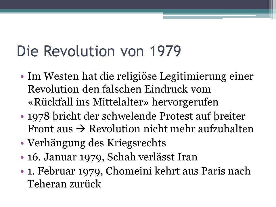 Die Revolution von 1979