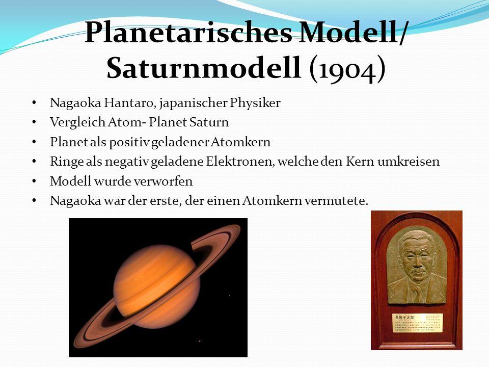 Planetarisches Modell/ Saturnmodell (1904)