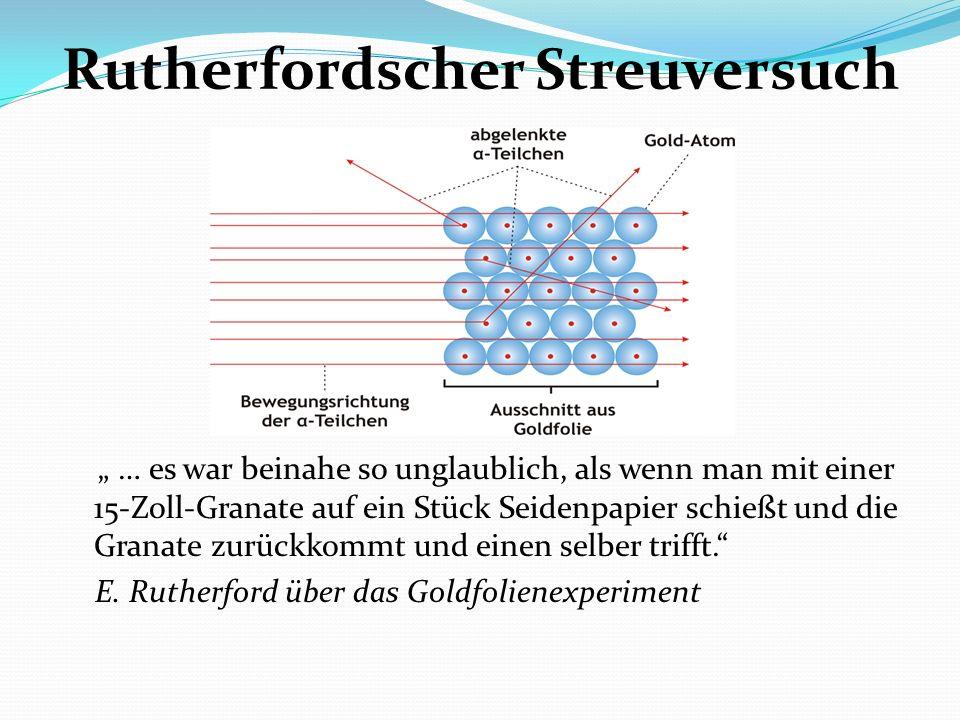 Rutherfordscher Streuversuch