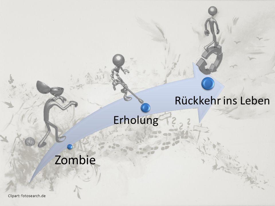 Zombie Erholung Rückkehr ins Leben Clipart: fotosearch.de