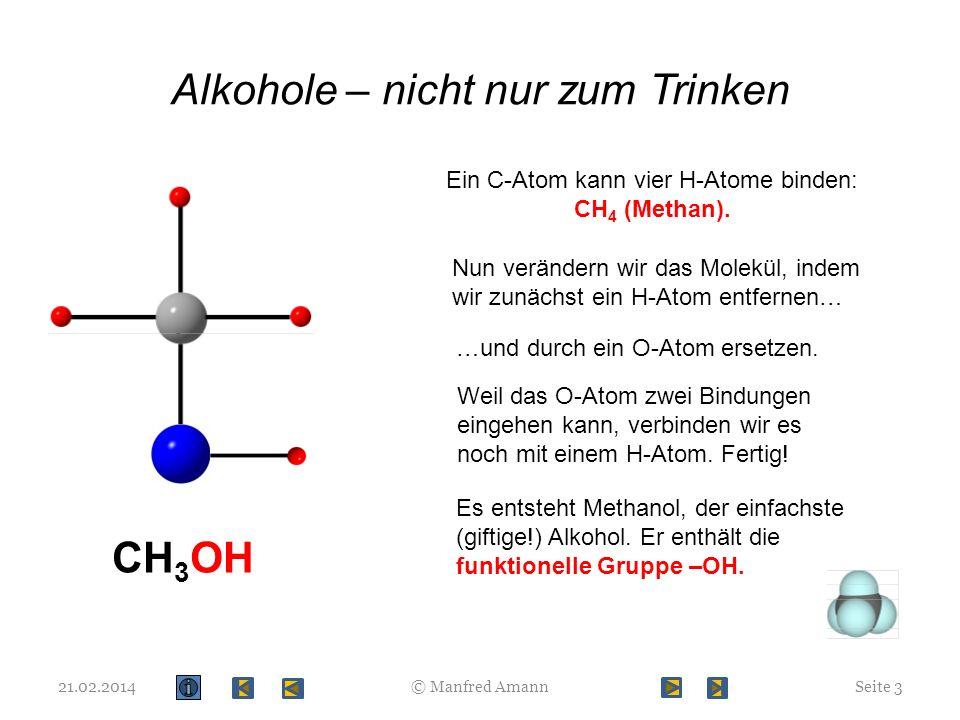 Alkohole – nicht nur zum Trinken