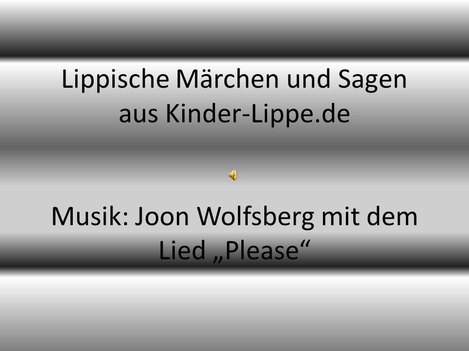 Lippische Märchen und Sagen aus Kinder-Lippe