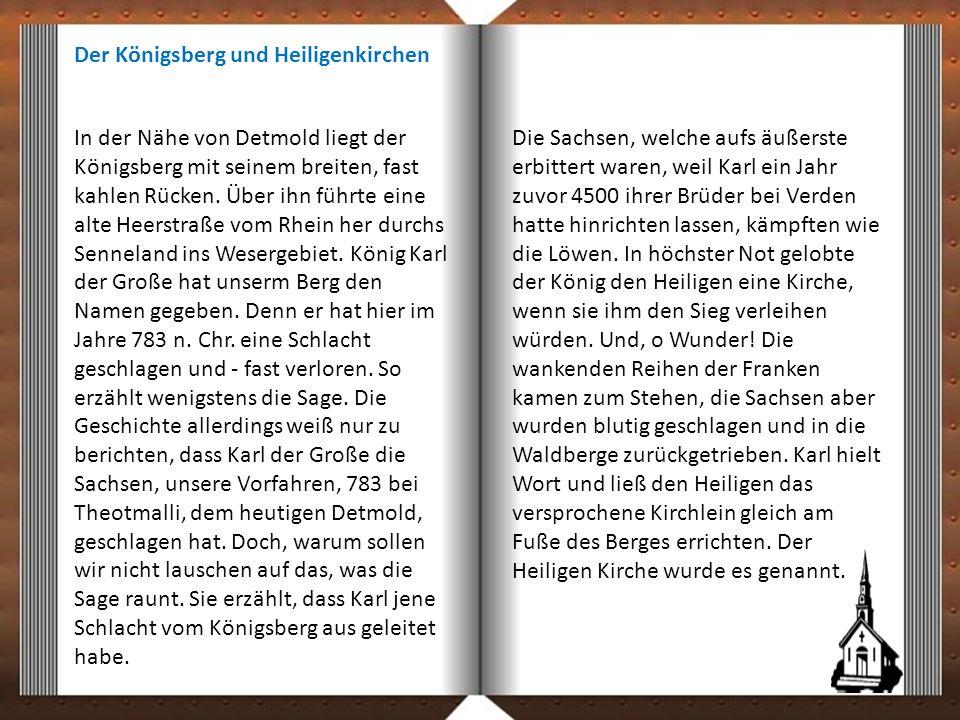 Der Königsberg und Heiligenkirchen