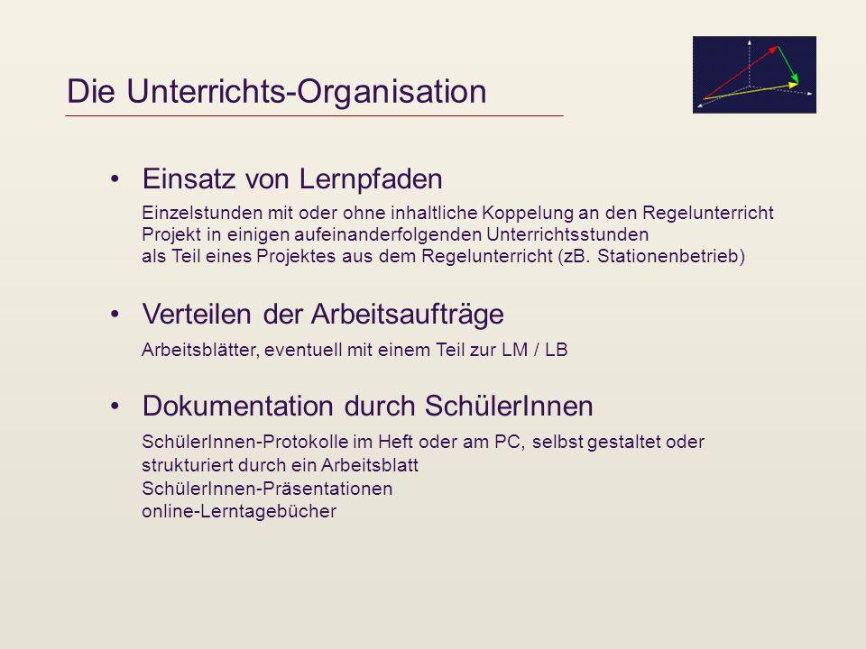 Die Unterrichts-Organisation