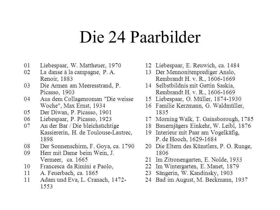 Die 24 Paarbilder 01 Liebespaar, W. Mattheuer, 1970