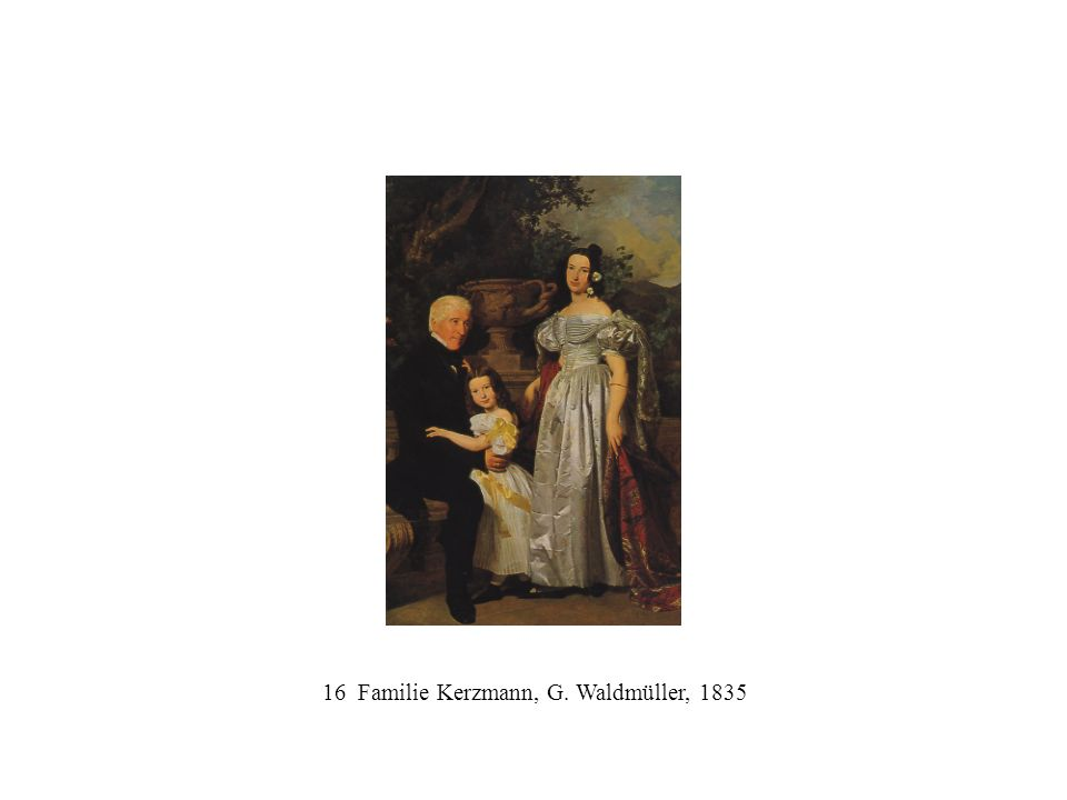 16 Familie Kerzmann, G. Waldmüller, 1835