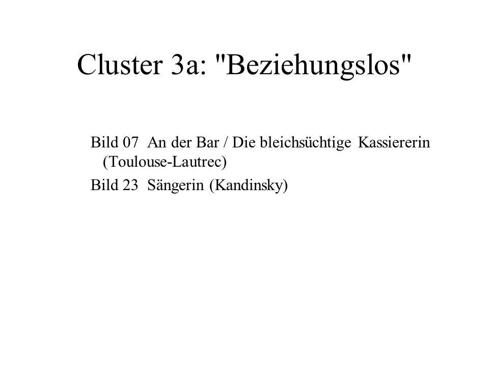 Cluster 3a: Beziehungslos