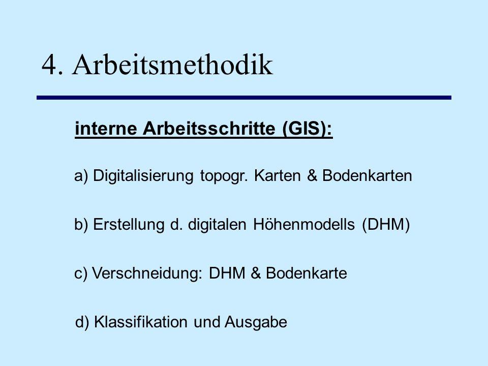 interne Arbeitsschritte (GIS):