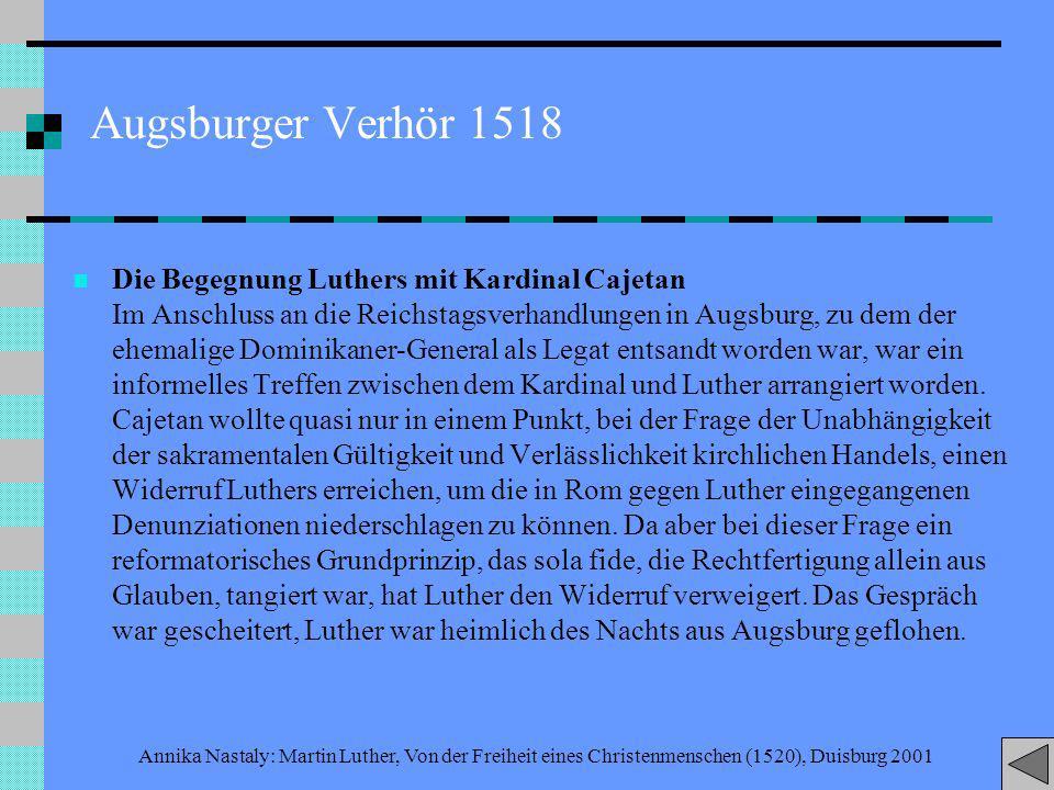 Augsburger Verhör 1518