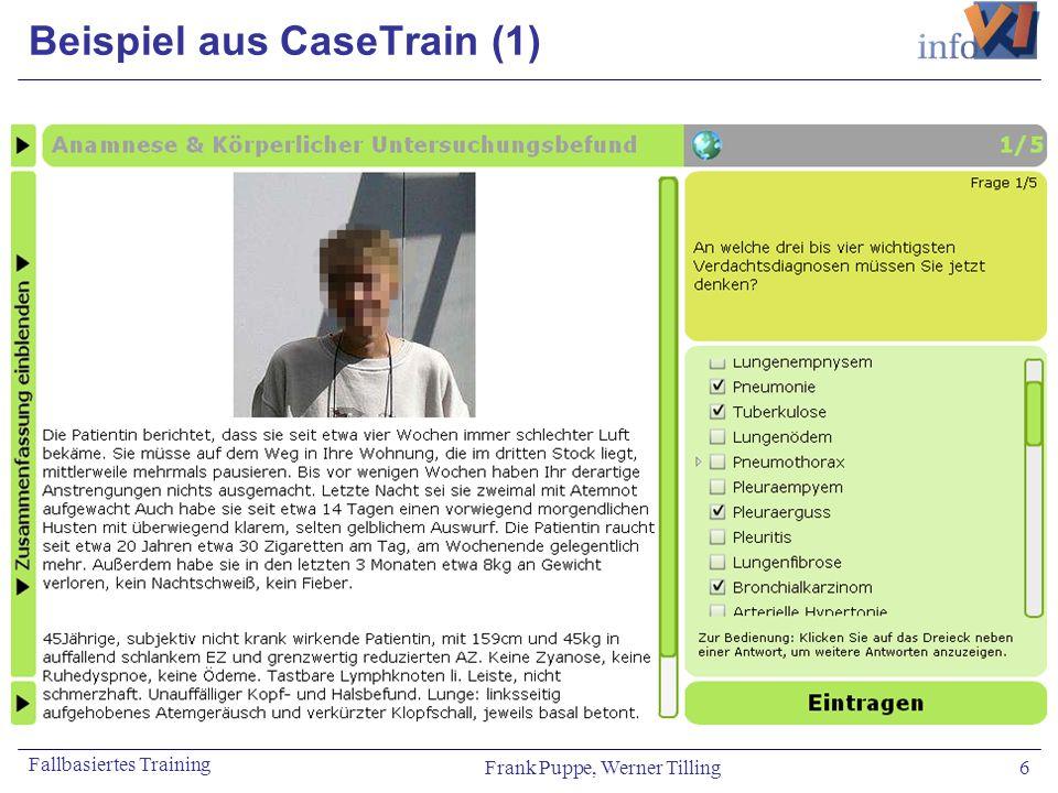 Beispiel aus CaseTrain (1)