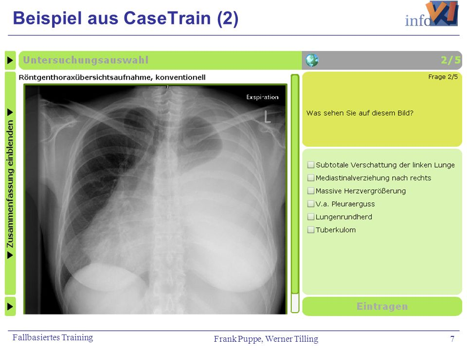 Beispiel aus CaseTrain (2)