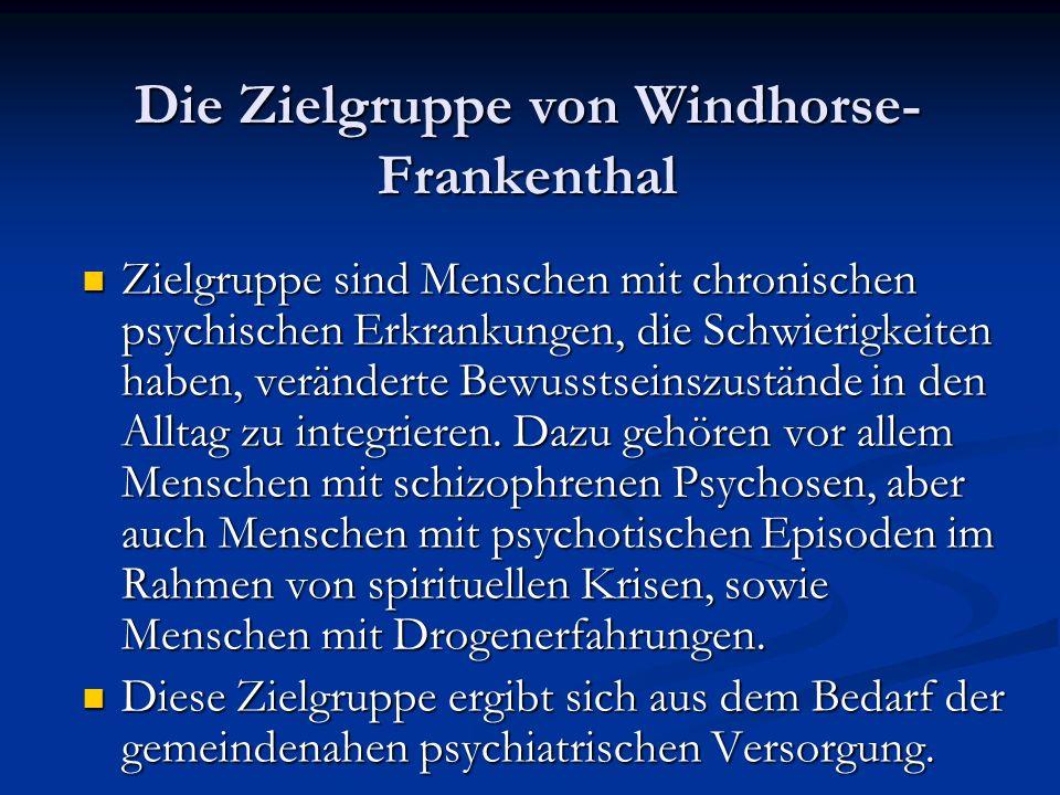 Die Zielgruppe von Windhorse-Frankenthal