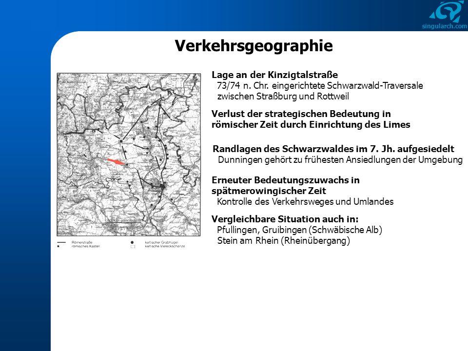 Verkehrsgeographie Lage an der Kinzigtalstraße 73/74 n. Chr. eingerichtete Schwarzwald-Traversale zwischen Straßburg und Rottweil.