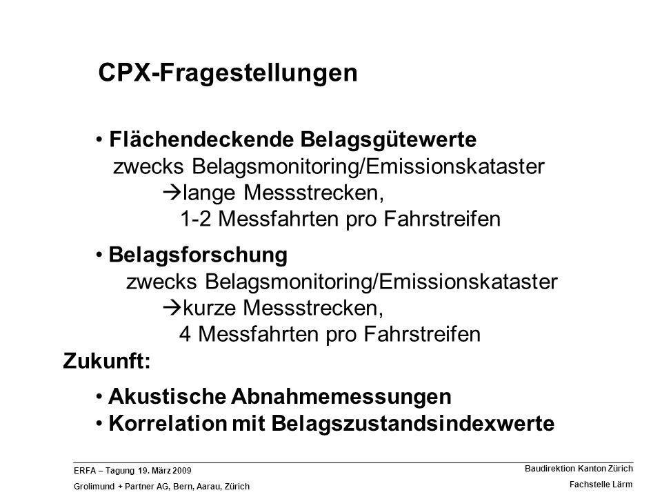 CPX-Fragestellungen