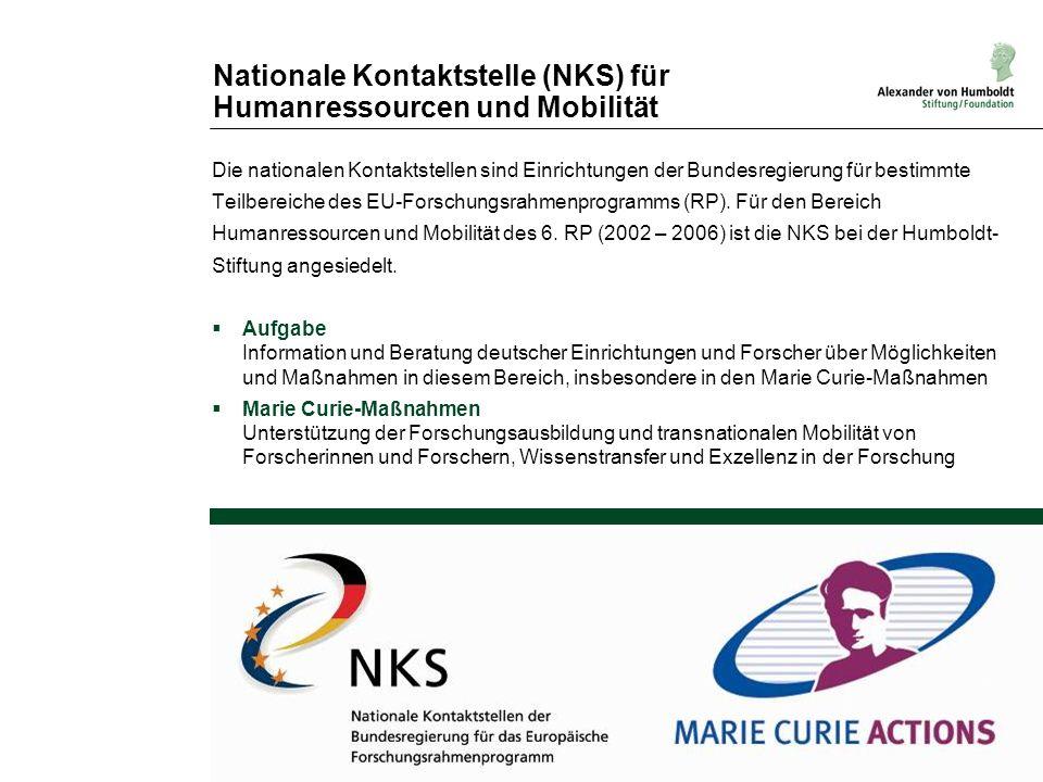 Nationale Kontaktstelle (NKS) für Humanressourcen und Mobilität