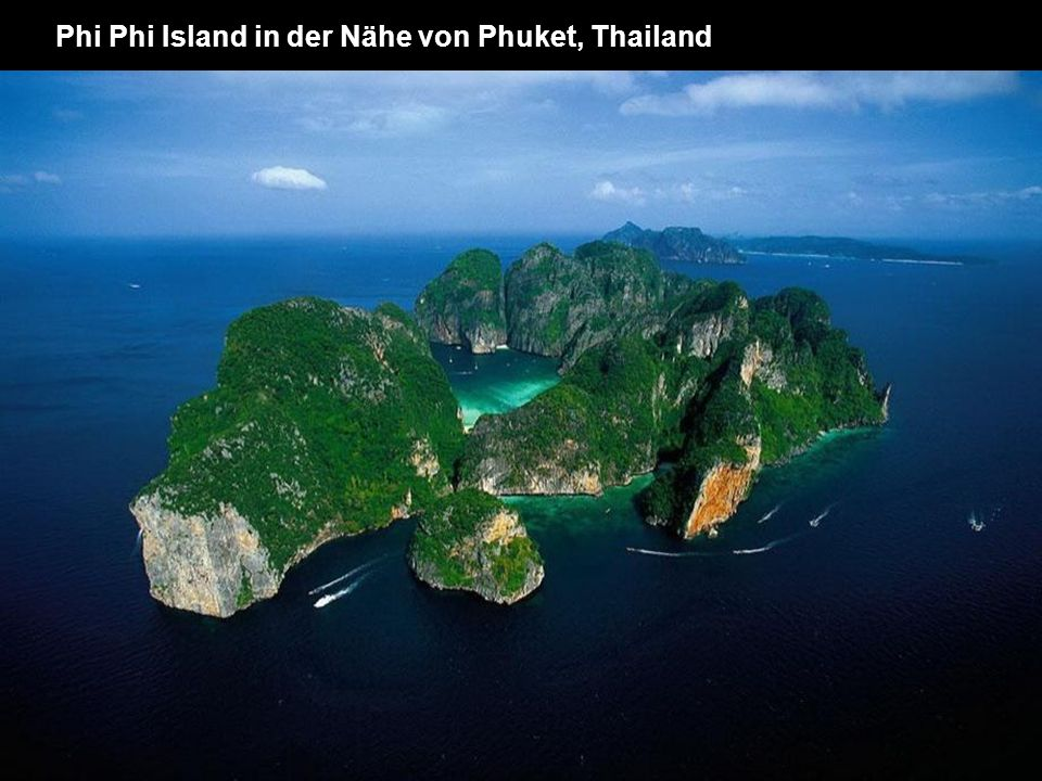 Phi Phi Island in der Nähe von Phuket, Thailand