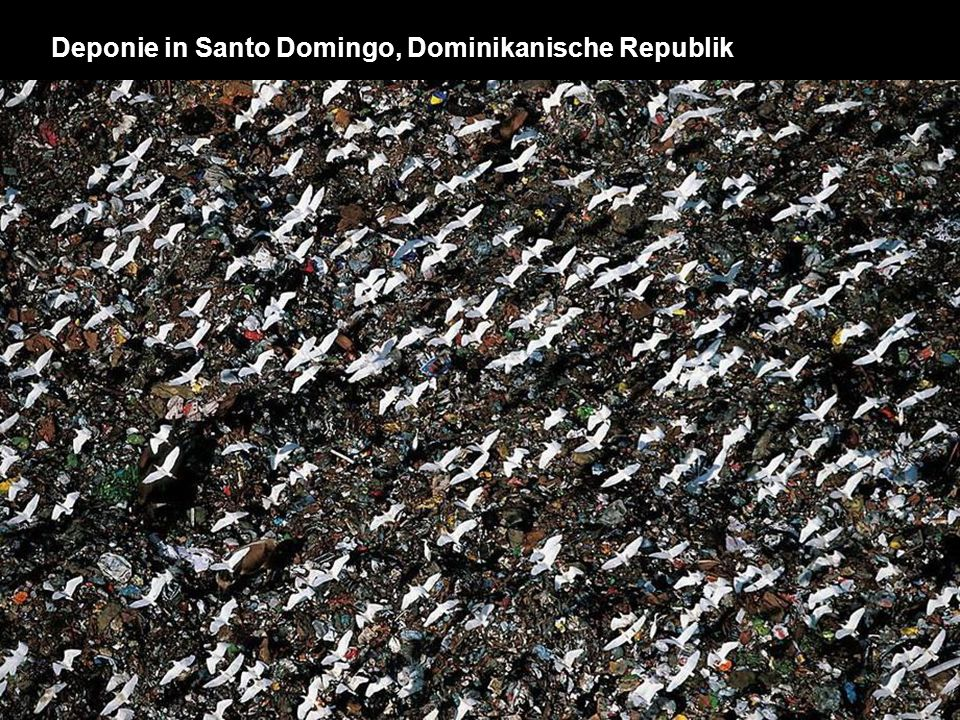 Deponie in Santo Domingo, Dominikanische Republik