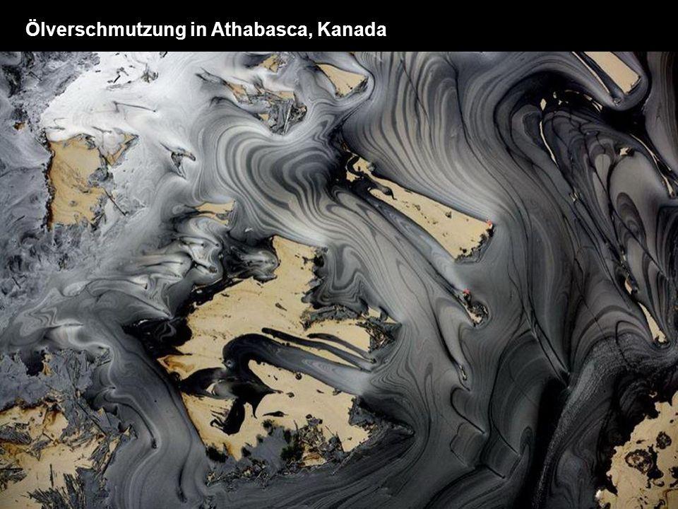 Ölverschmutzung in Athabasca, Kanada