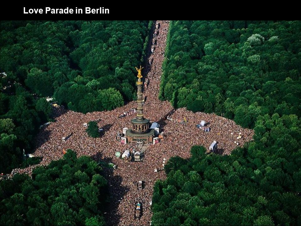 Love Parade in Berlin