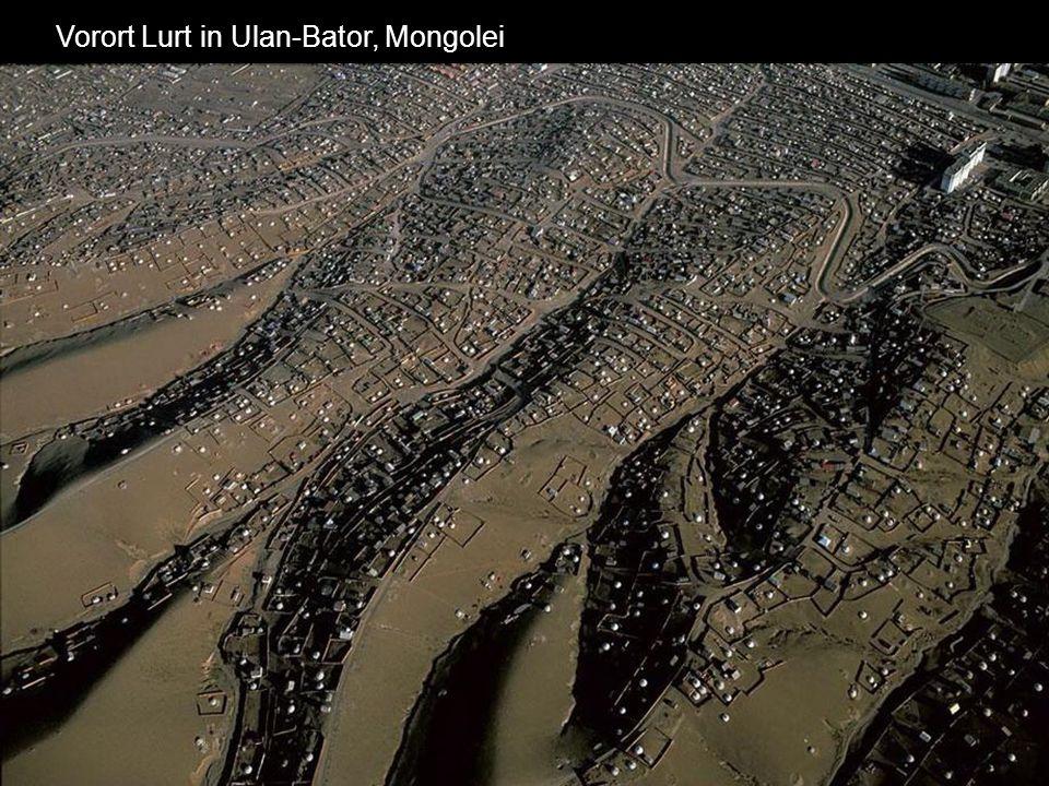 Vorort Lurt in Ulan-Bator, Mongolei