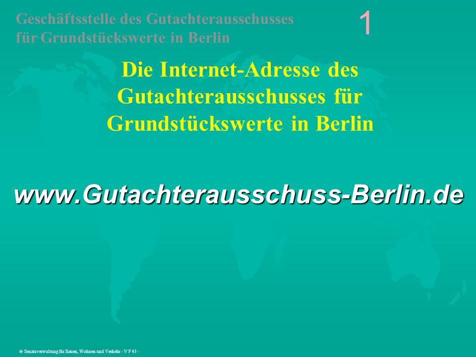1 www.Gutachterausschuss-Berlin.de