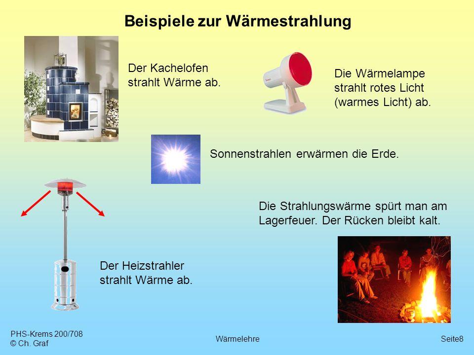 Beispiele zur Wärmestrahlung