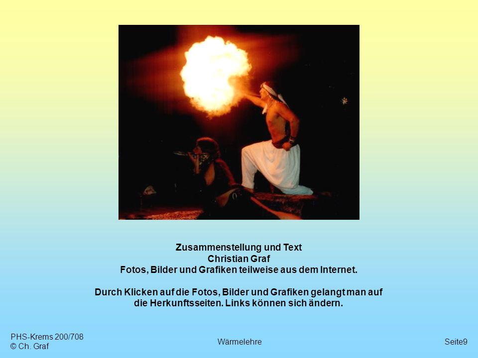 Zusammenstellung und Text Christian Graf