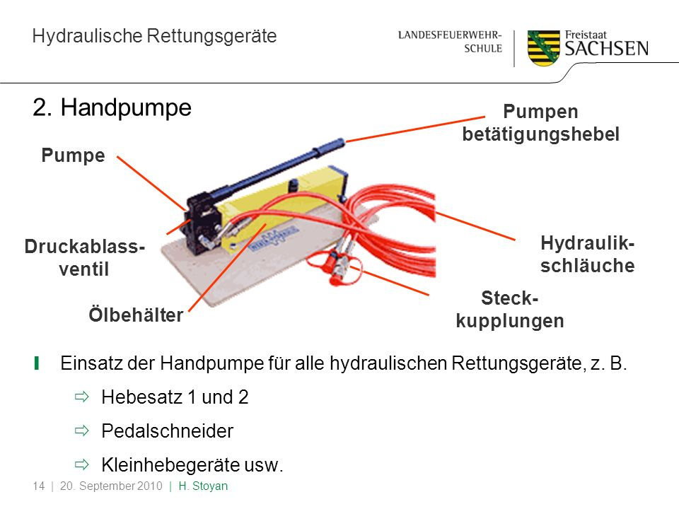 2. Handpumpe Pumpen betätigungshebel Pumpe Druckablass-ventil