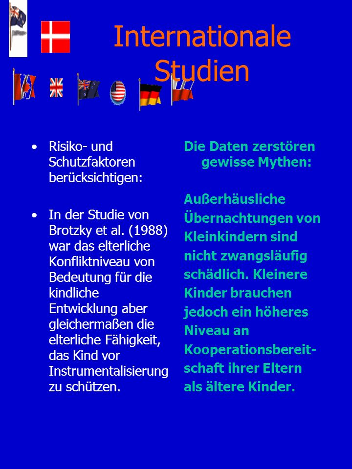 Internationale Studien