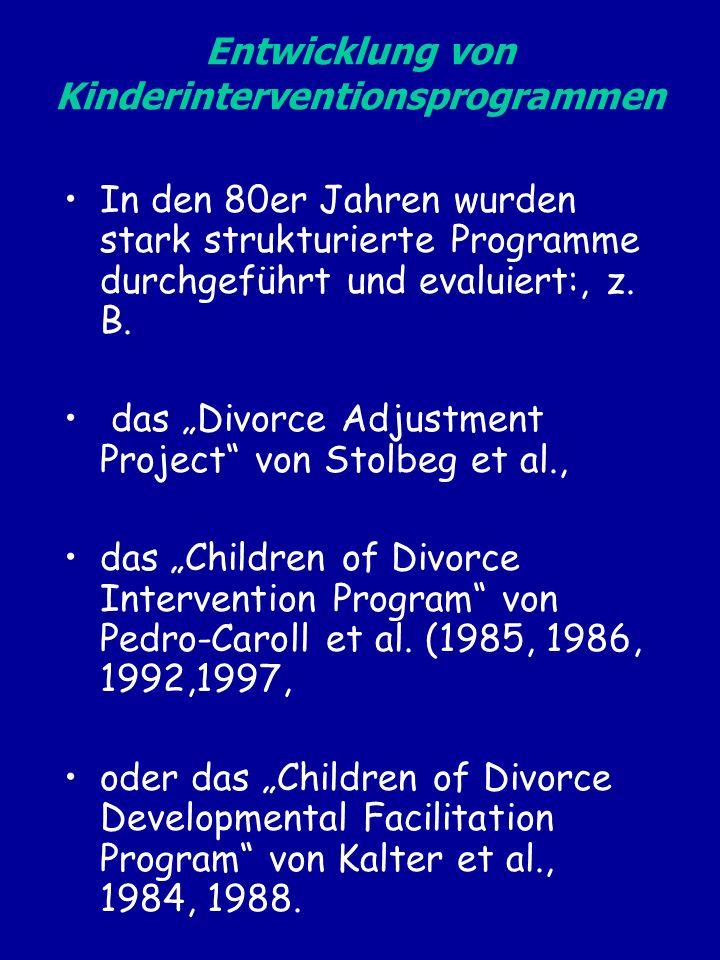 Entwicklung von Kinderinterventionsprogrammen