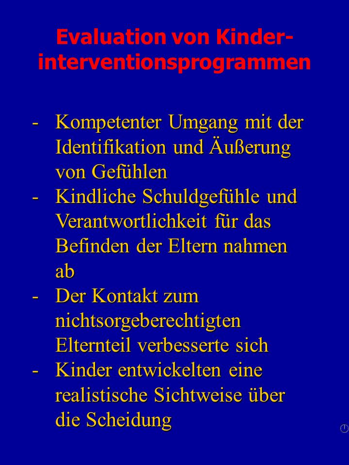 Evaluation von Kinder-interventionsprogrammen
