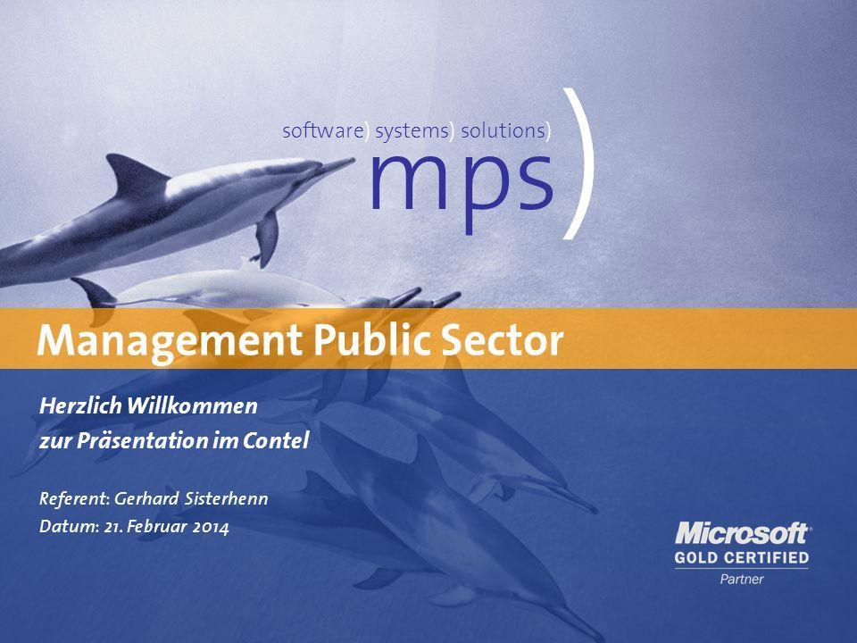 mps) Management Public Sector Herzlich Willkommen