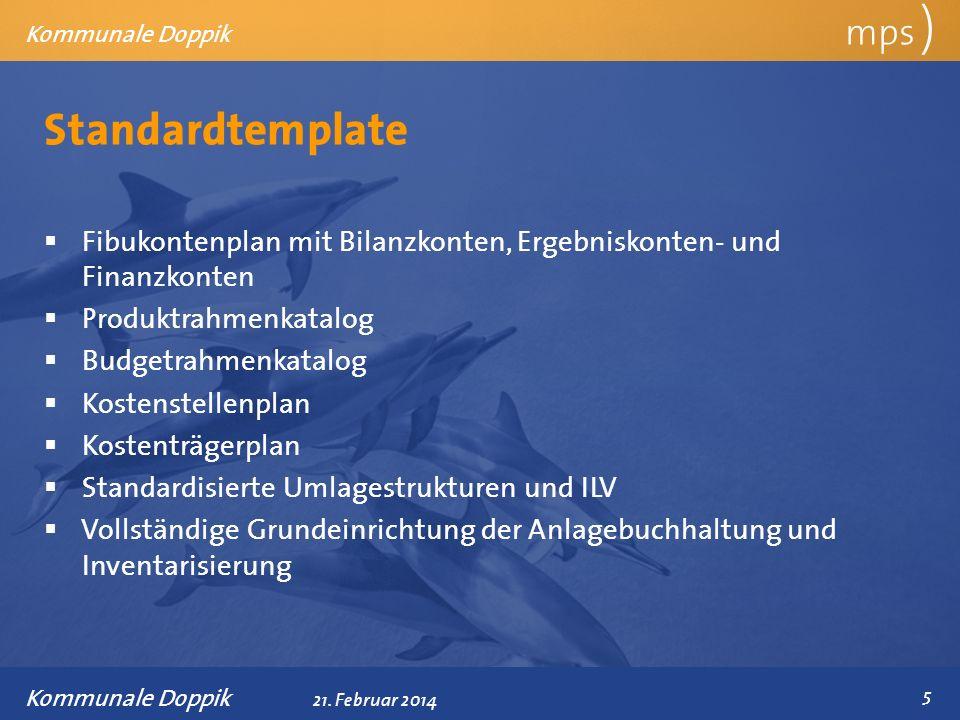Standardtemplate mps )