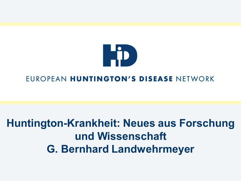Huntington-Krankheit: Neues aus Forschung und Wissenschaft G