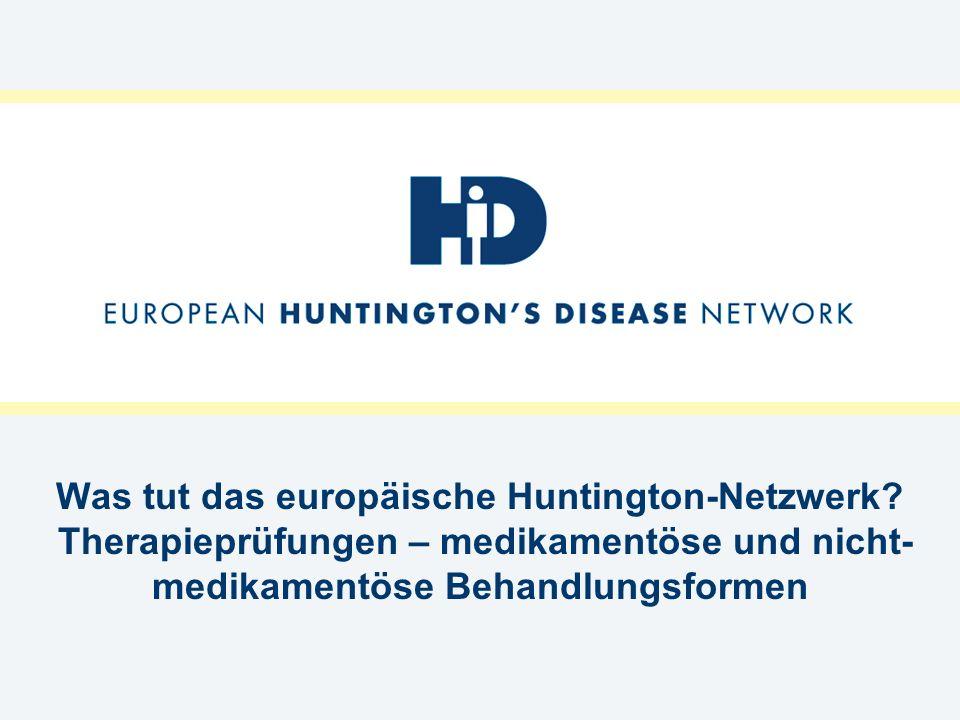 Was tut das europäische Huntington-Netzwerk
