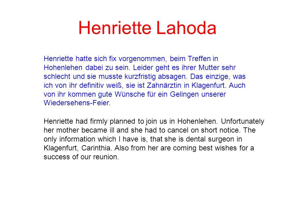 Henriette Lahoda