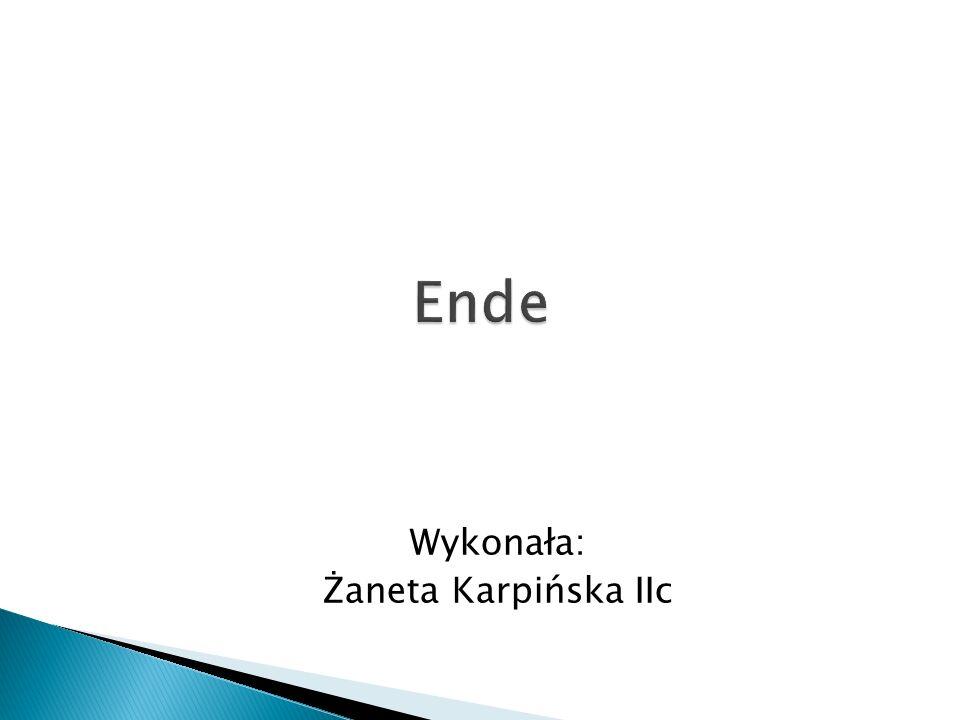 Wykonała: Żaneta Karpińska IIc
