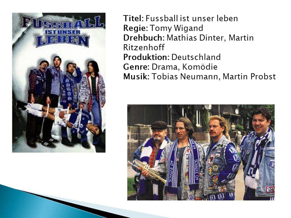 Titel: Fussball ist unser leben