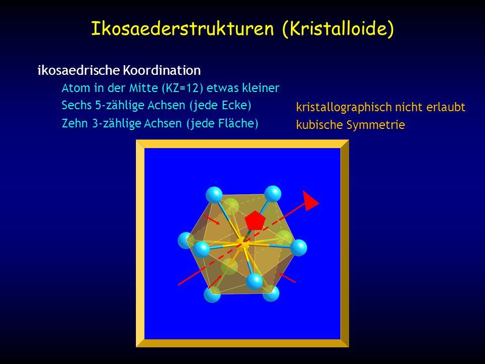 Ikosaederstrukturen (Kristalloide)