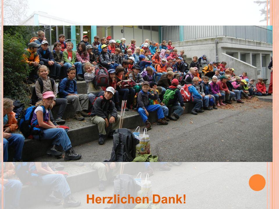 18.10.2011 Kindergarten und Primarschule Herzlichen Dank!