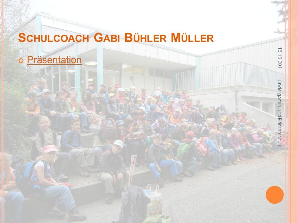 Schulcoach Gabi Bühler Müller